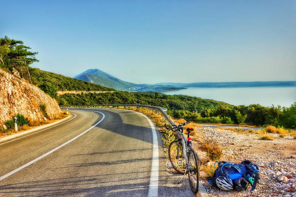 cres losinj touring bicycle beaches hills cres lošinj fun