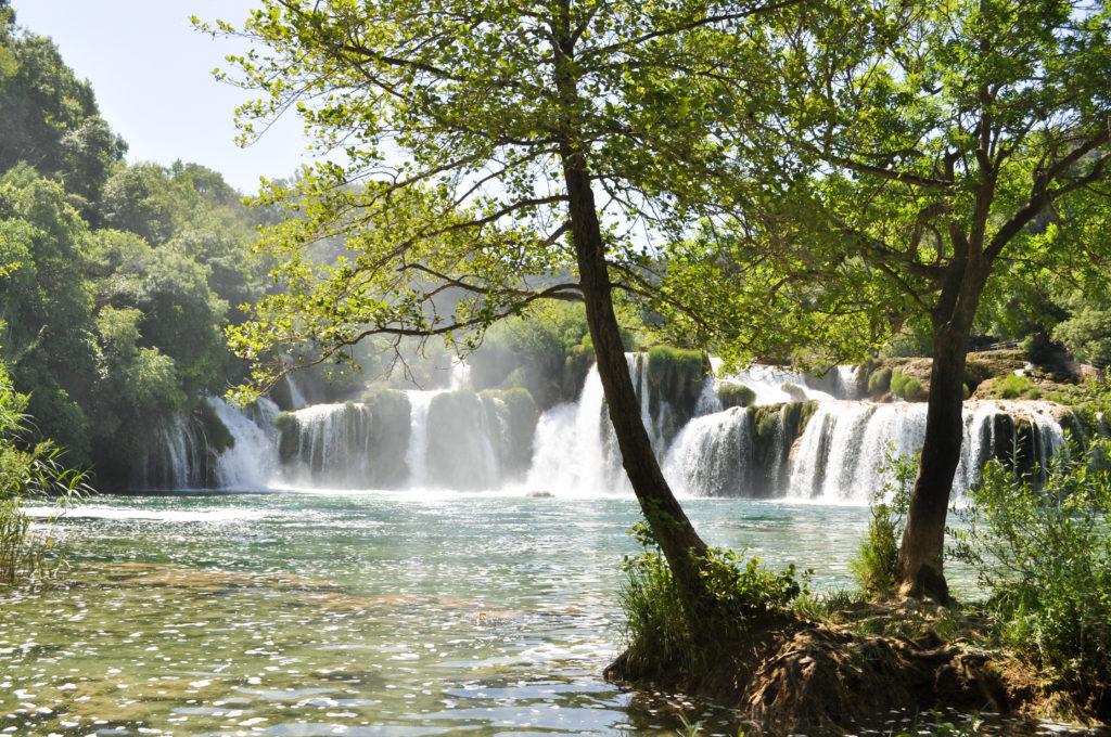 Swimming in Krka National Park