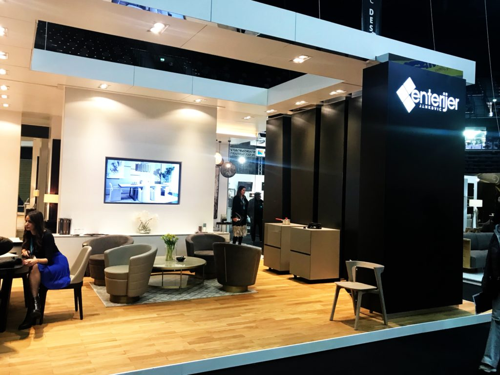 Exhibition Stand Enterijer
