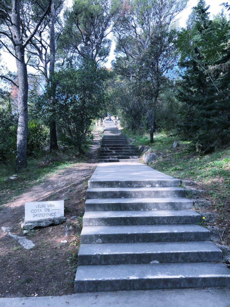 Veliki vrh 314 stepenice