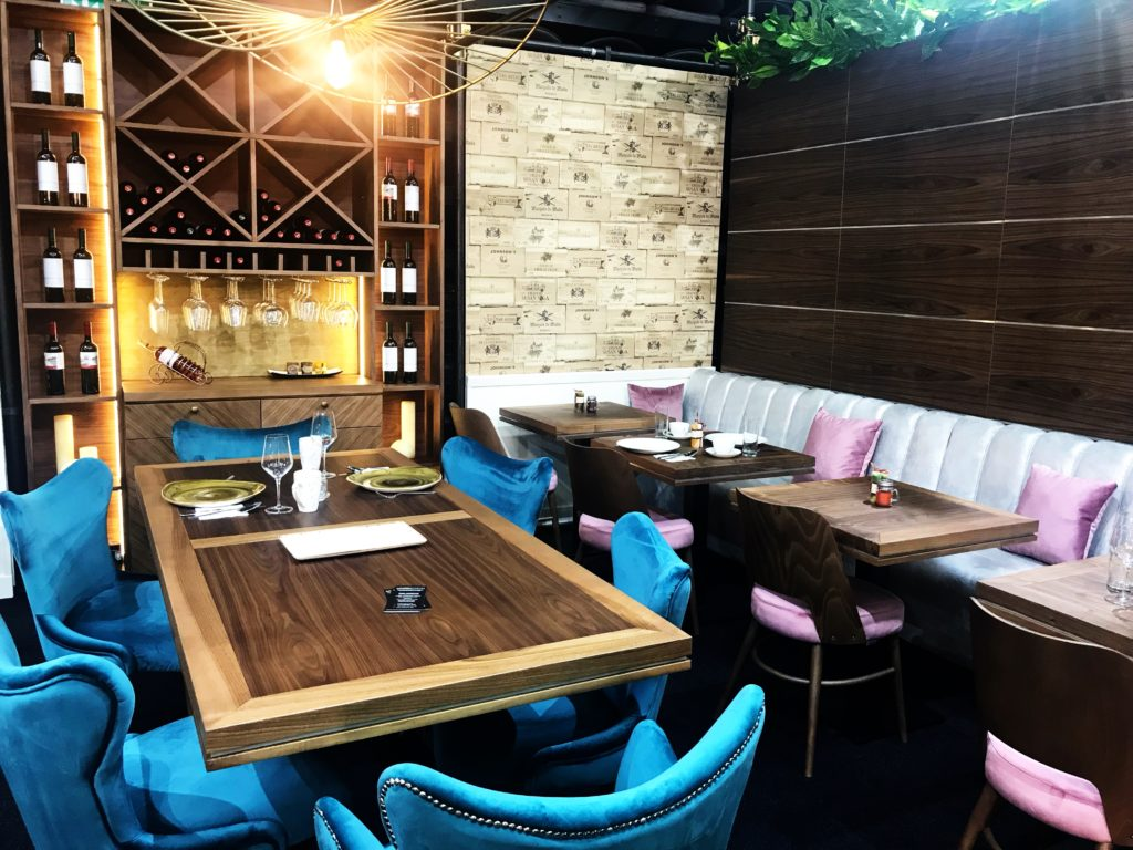 Exhibition stands Restaurant furniture