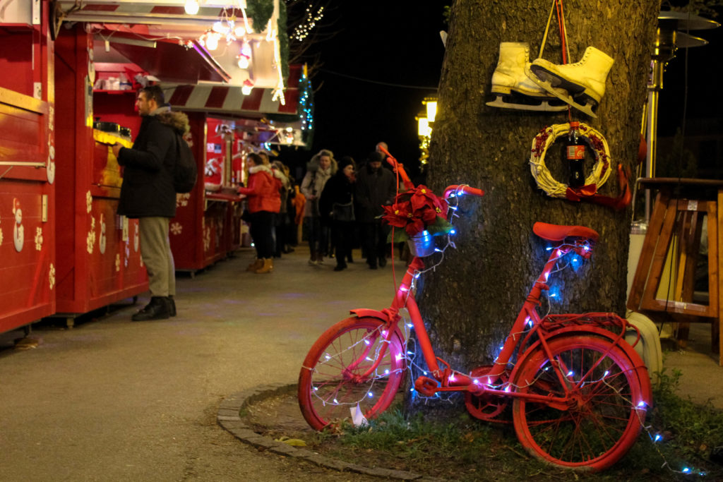Christmas Light Bike