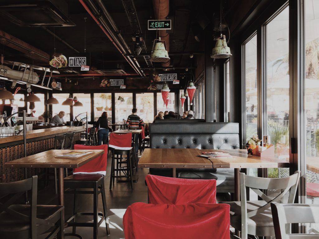 Terminal F, a new restaurant designed as aerodrome in Split