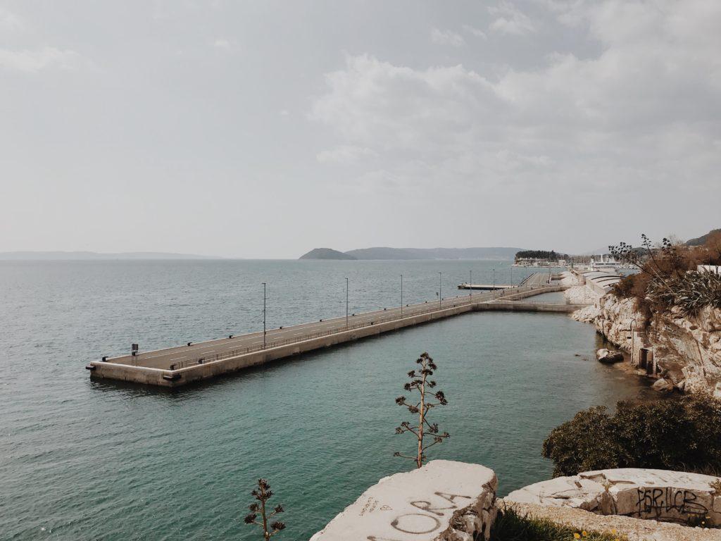 Port or Harbour in Split, Croatia