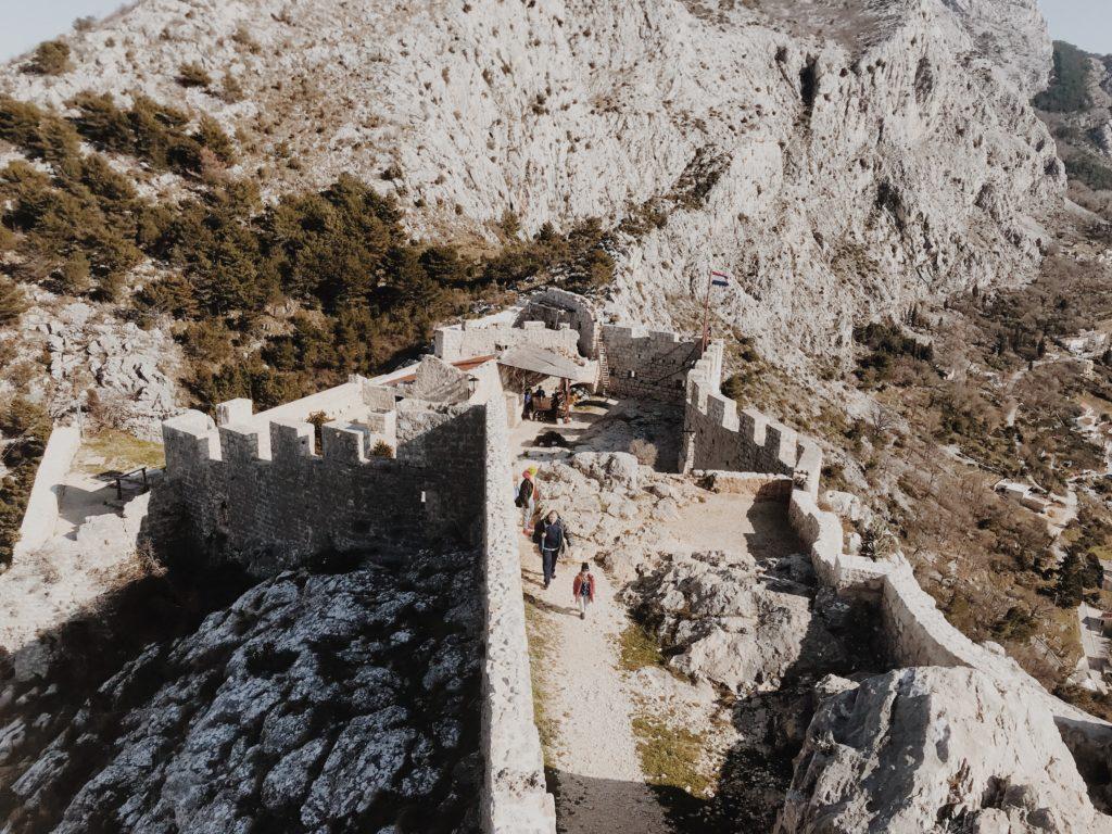 Fortress Starigrad (Fortica) in Omiš