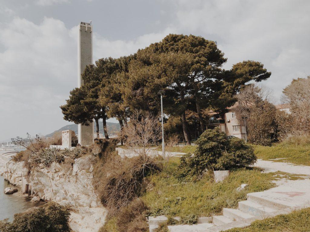 Lighthouse Pomorac Split