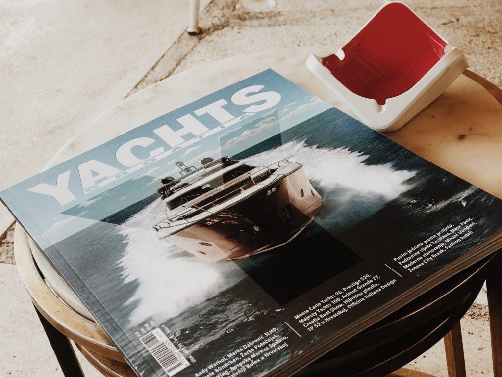 Časopis Yachts Hrvatska Croatia
