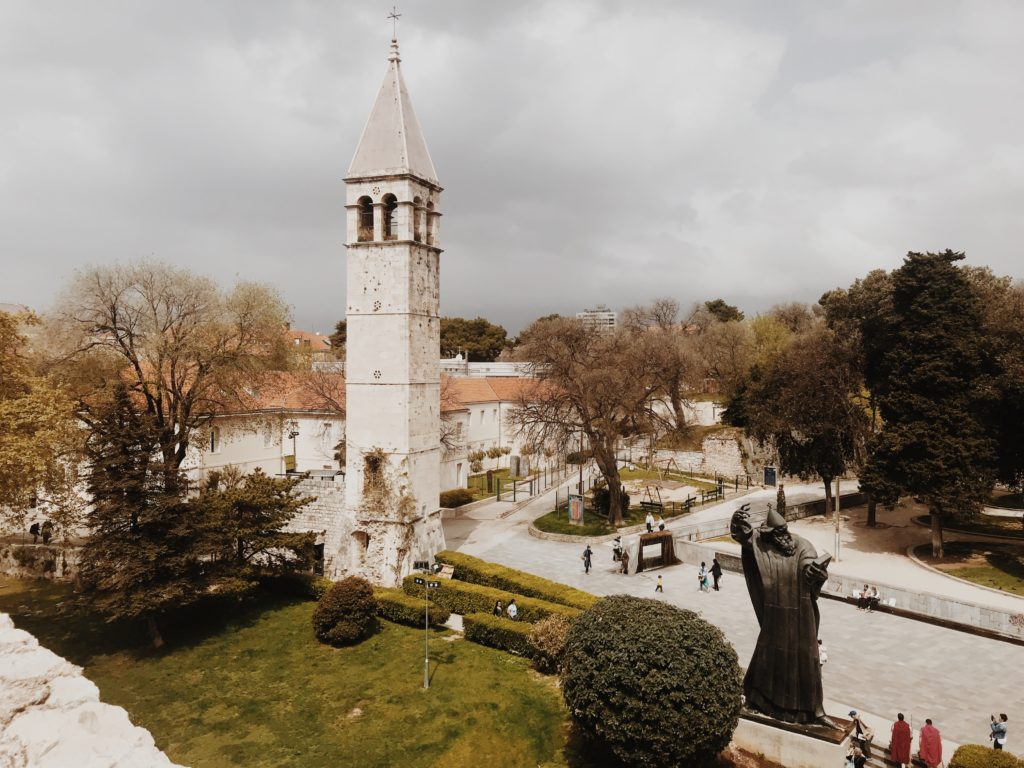 Grgur Ninski statue in Split
