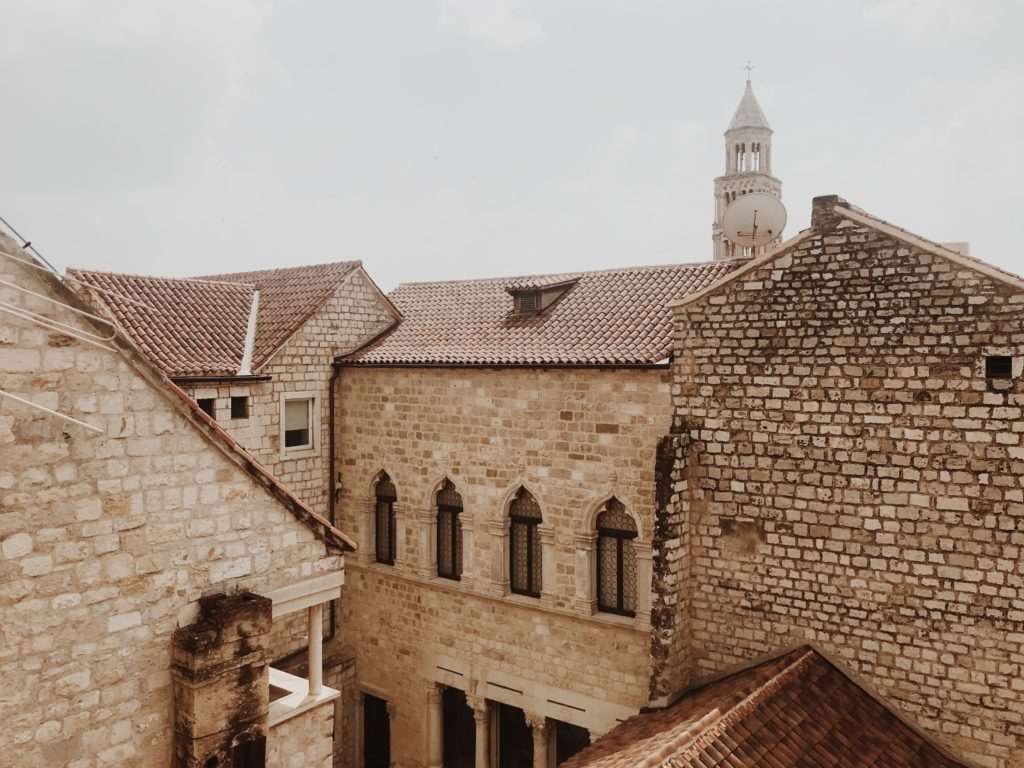 Diocletian's Palace walls Split