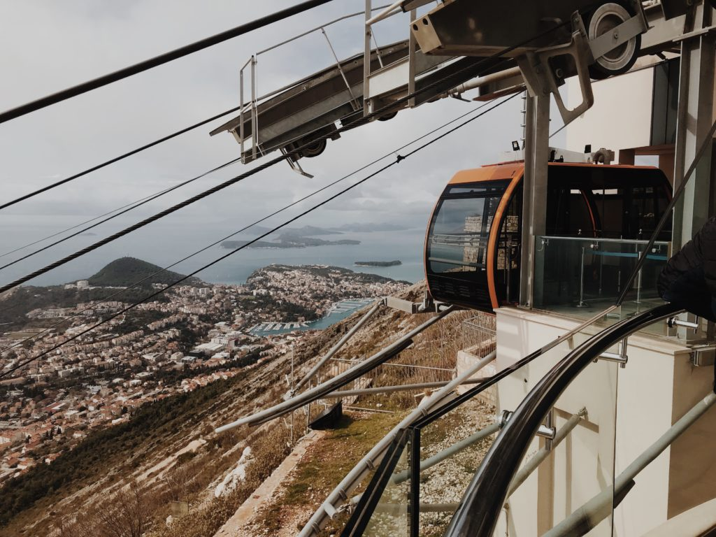 Dubrovnik guide city Summer cable car