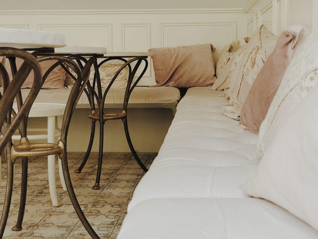 Beautiful Indoor Coffee Bar Bench Seat Cushions