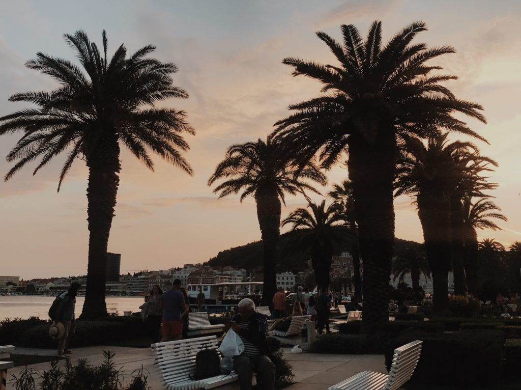 Riva Split Sunset