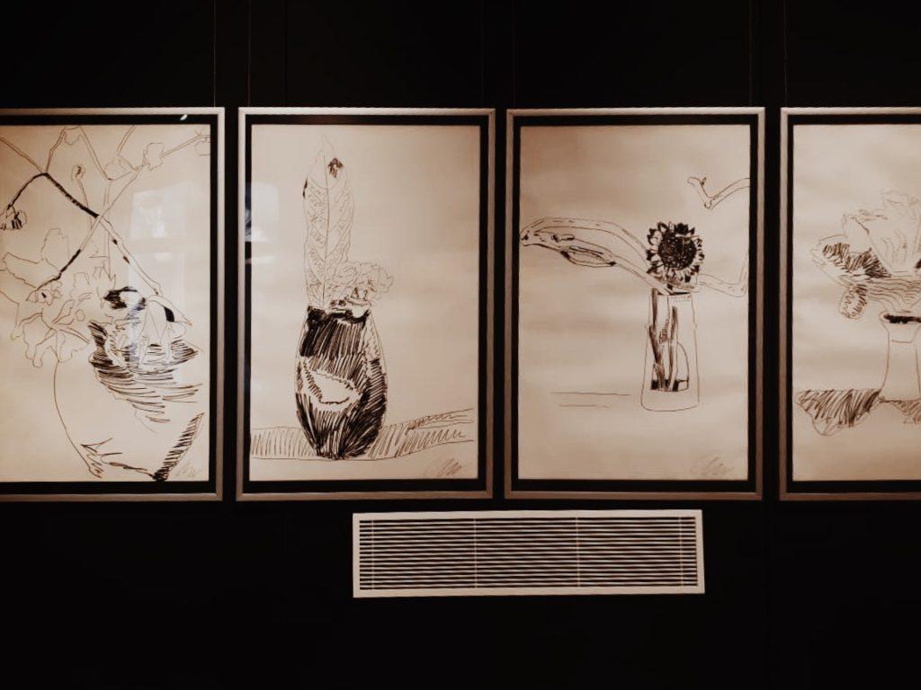 Vintage Apstract Pop art drawings