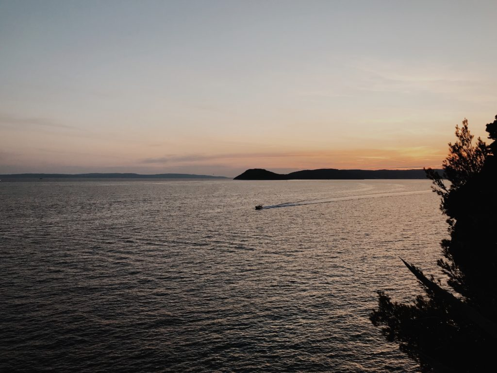 Park Sustipan Split Sunset