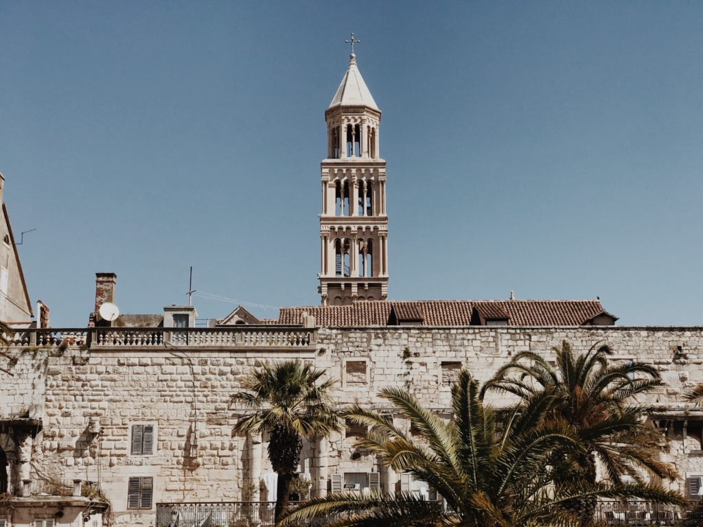 Cathedral of St. Domnius (Sv. Duje), Diocletian's Palace, Split, Dalmatia, Croatia