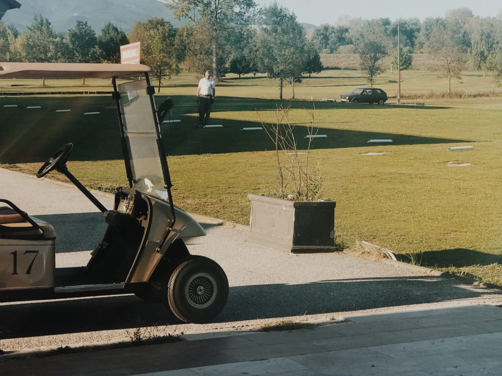 Personal Transportation Vehicles - Self-driving golf carts