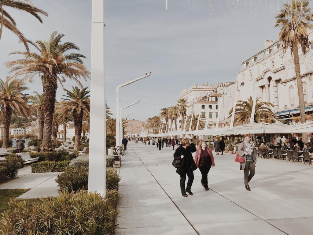 Riva Split / Splitska riva