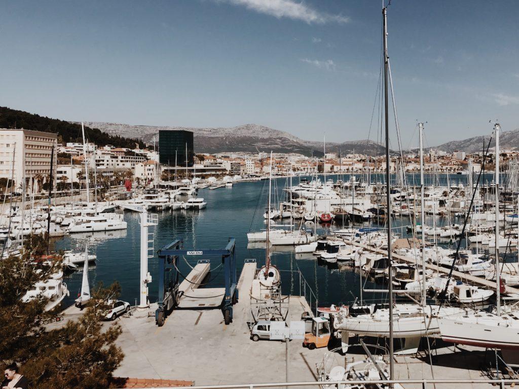 Split Harbour - ACI Marina Split