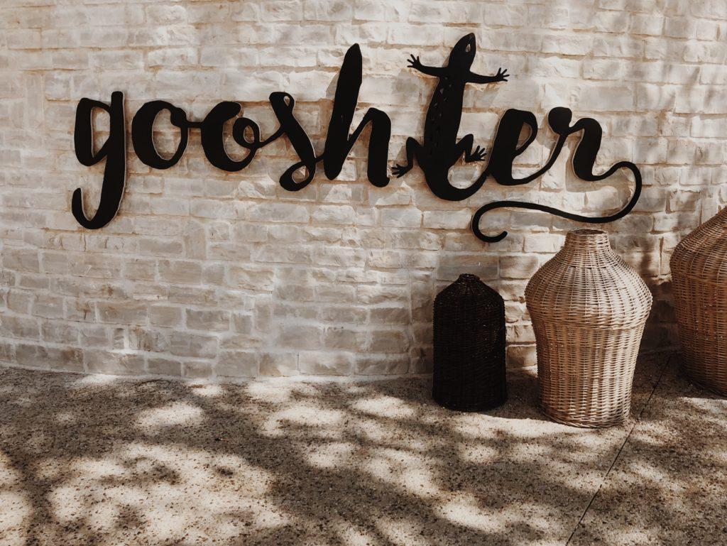 Gooshter Wall Sign