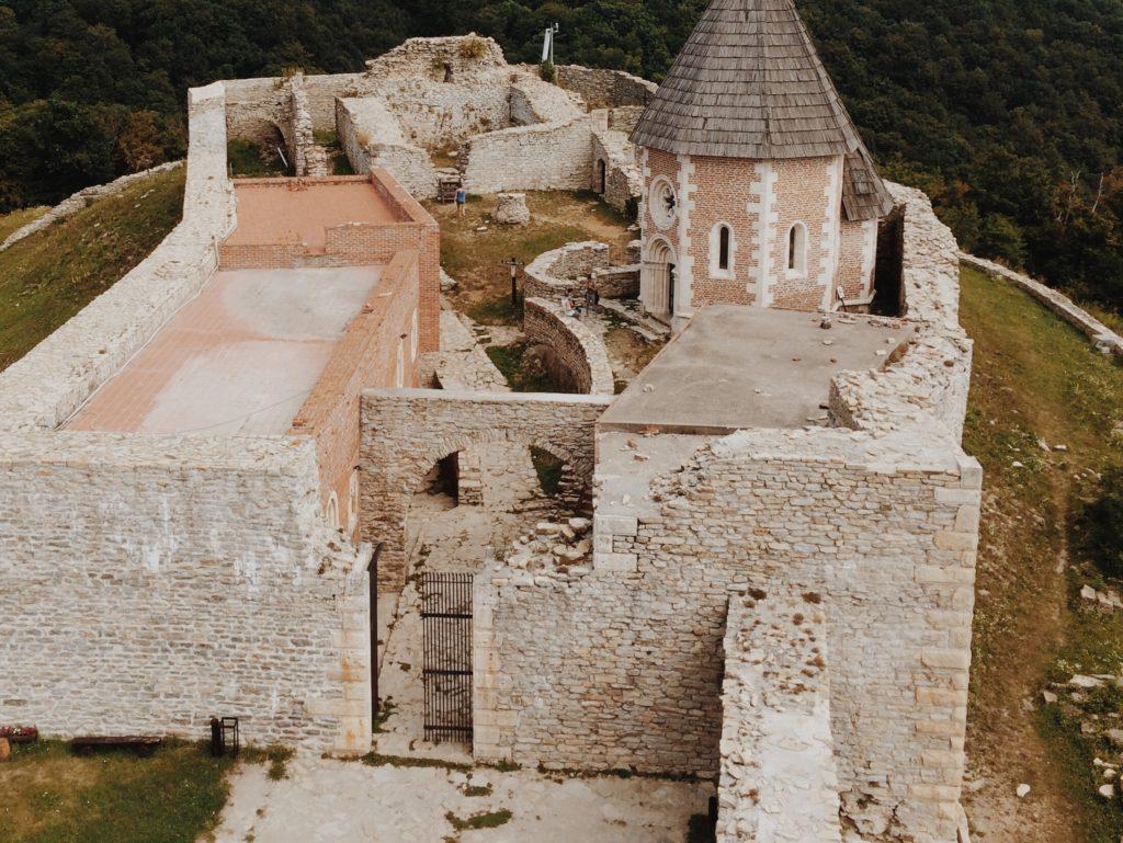 Medieval town Medvedgrad