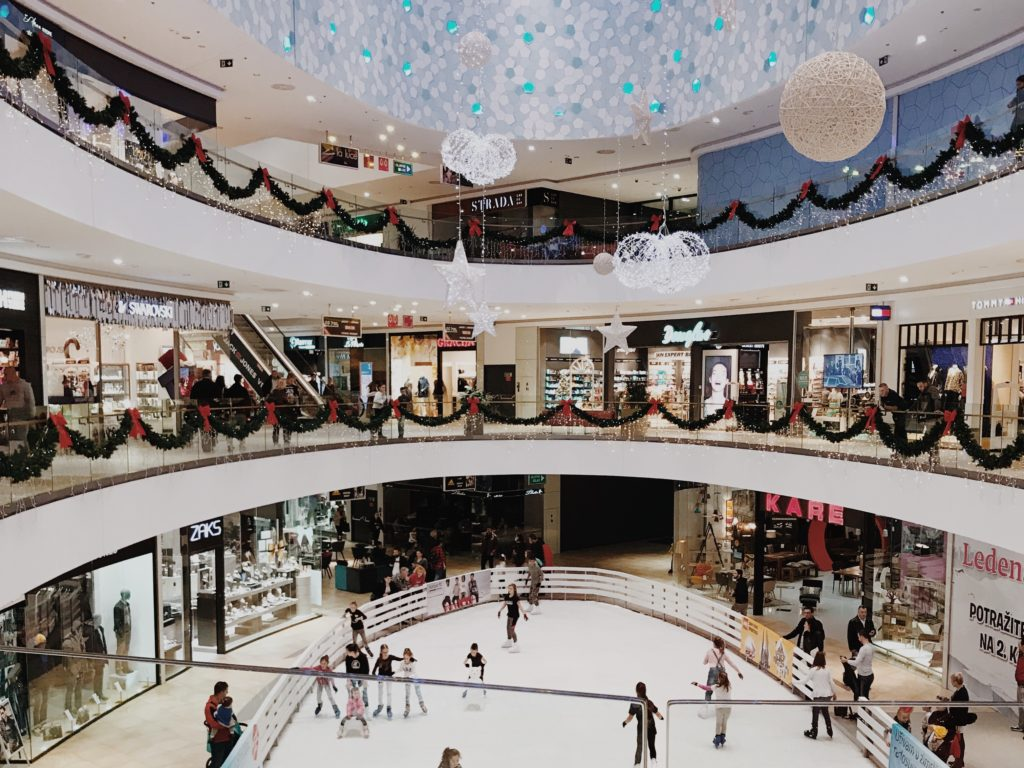 Shopping places in Split