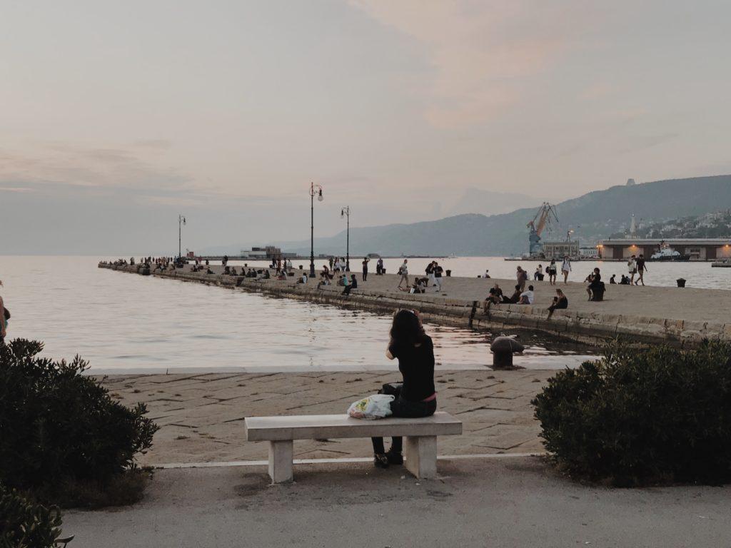 Molo Audace Trieste Italy