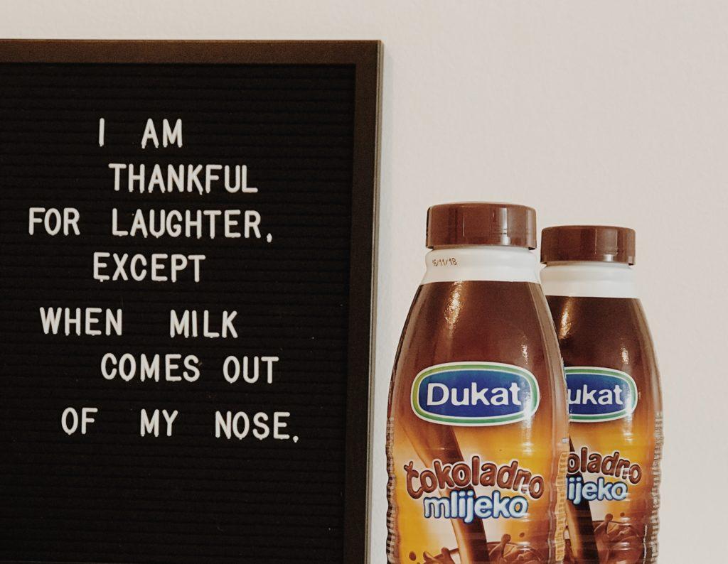 Dukat chocolate milk