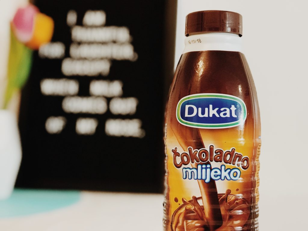 Dukat chocolate milk