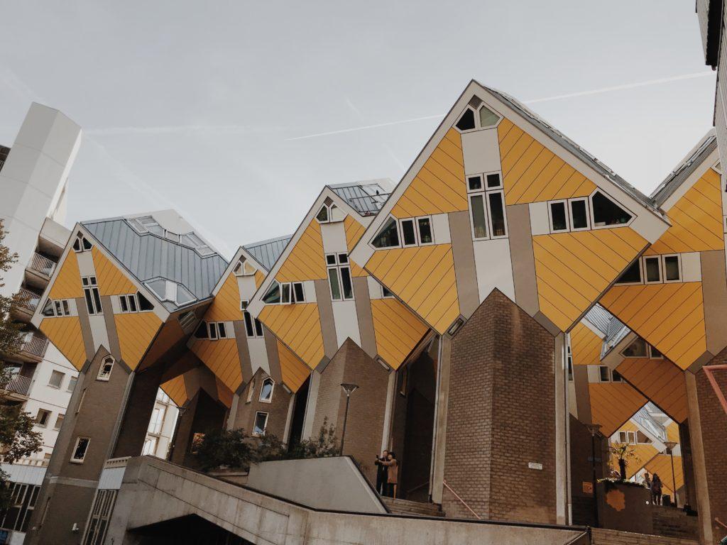 Blaak, Rotterdam, Netherlands architect Piet Blom