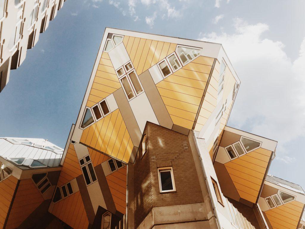 Cube houses - Kubuswoningen by Piet Blom