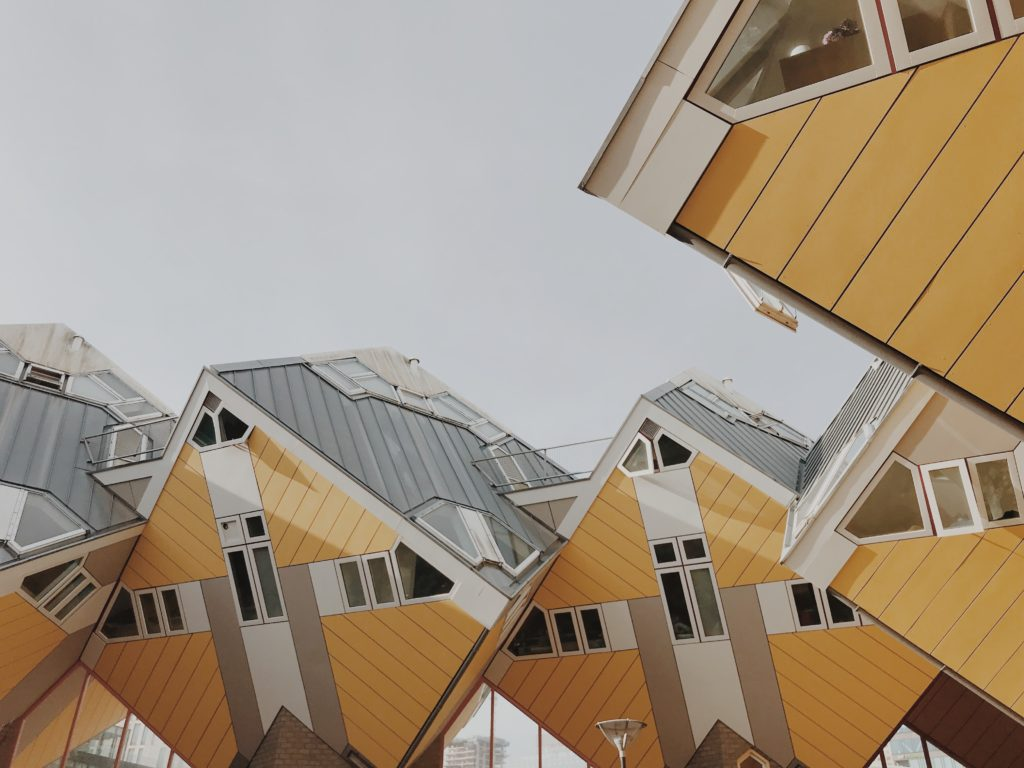 Cube houses - Kubuswoningen by Piet Blom