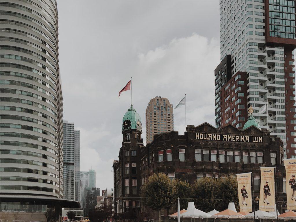 Rotterdam on bike Hotel New York