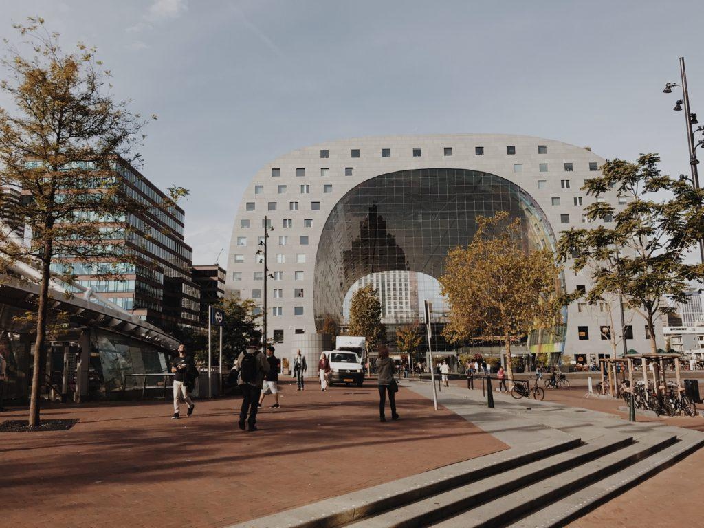Rotterdam on bike Markthal