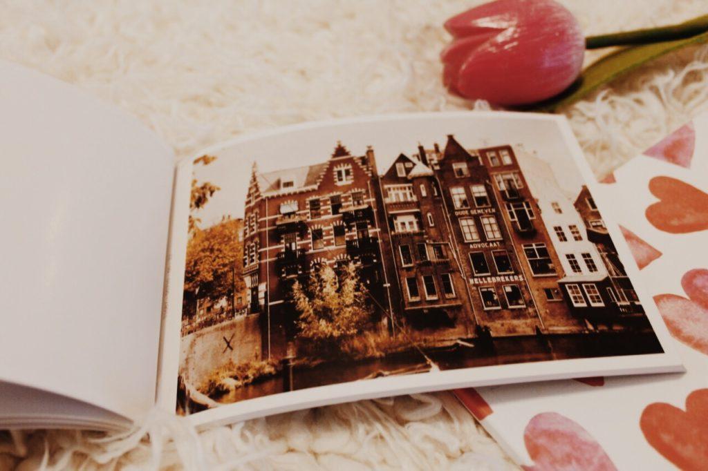 Historic cityscape of Delfshaven Rotterdam photo Postcard