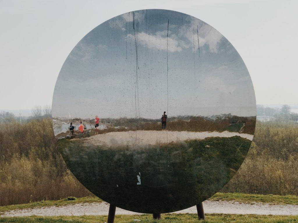 Sky Moon Mirror Environment