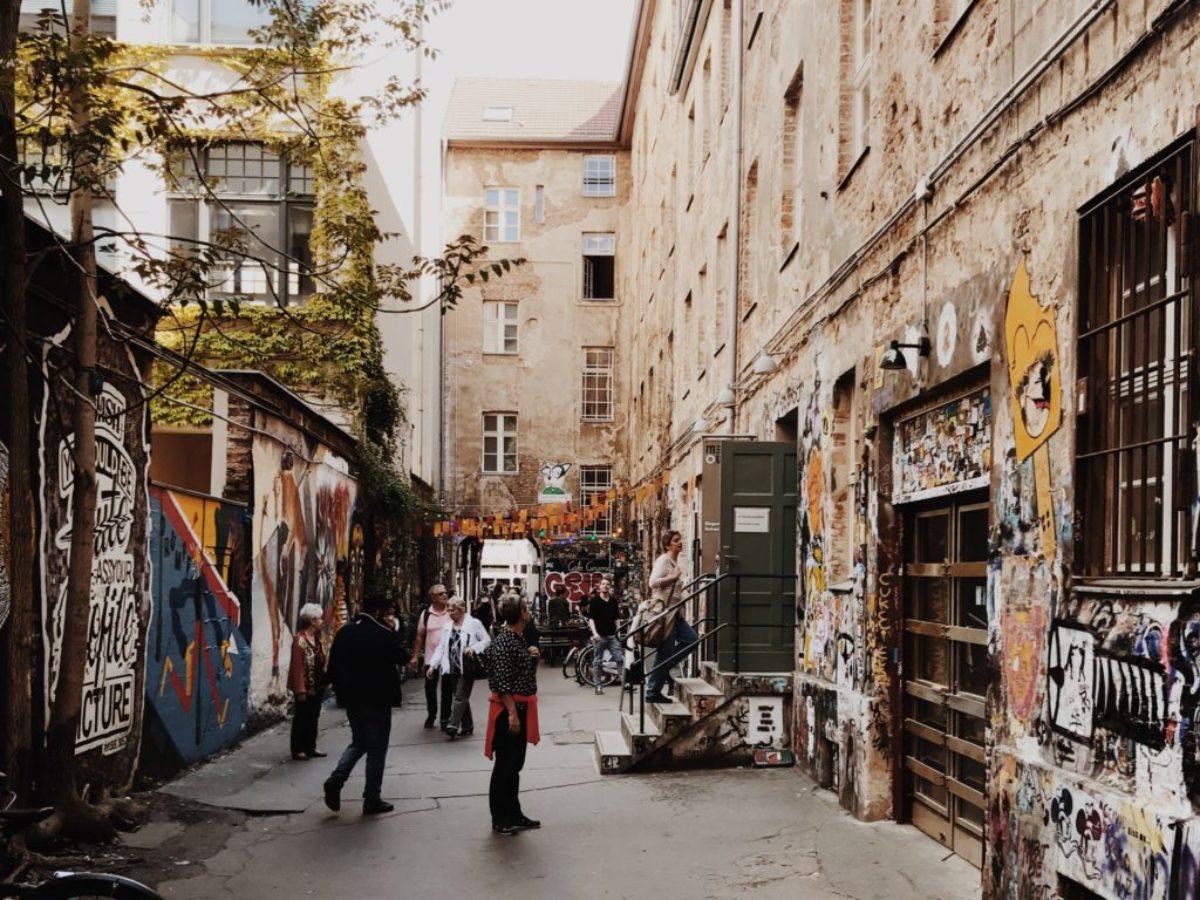 Haus Schwarzenberg A Nice Street Art Courtyard In The Center Of Berlin