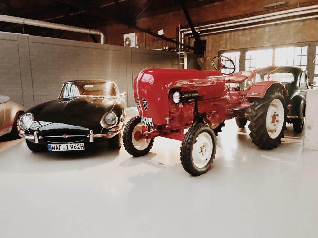 Porsche Junior Diesel Tractor 1959