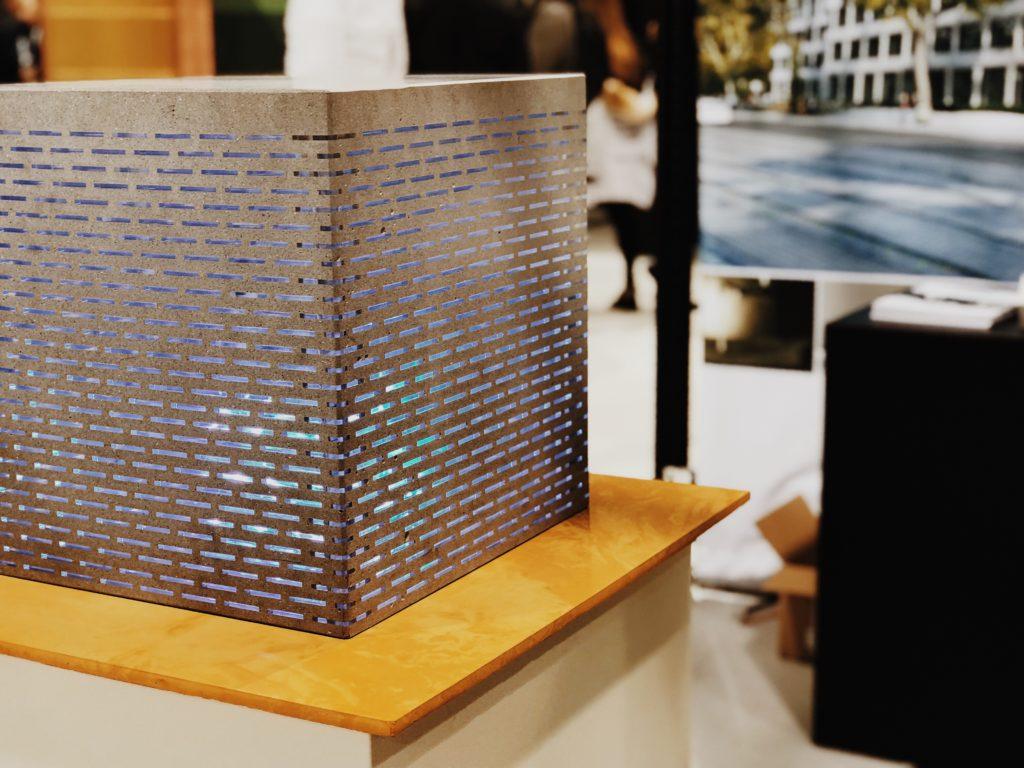 Innovative design materials in lighting