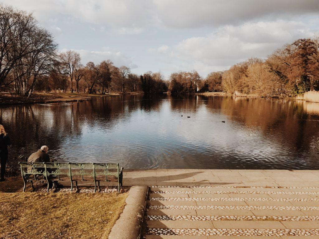 Charlottenburg Palace lake