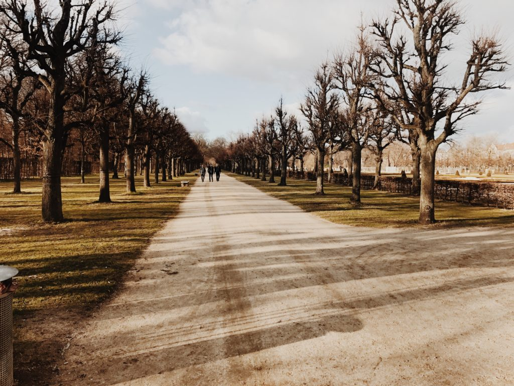 Charlottenburg Palace park