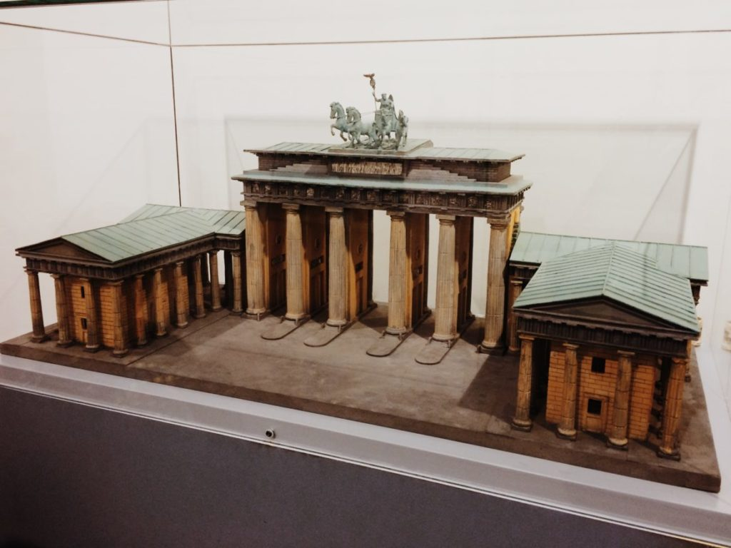 Scale Model of the Brandenburg Gate, Berlin, Germany