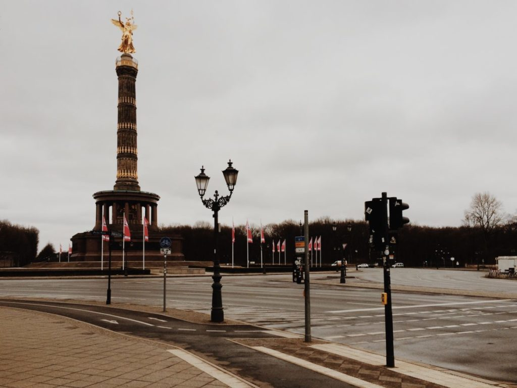 Berlin Victory Column (Siegessäule) Berlin, Germany