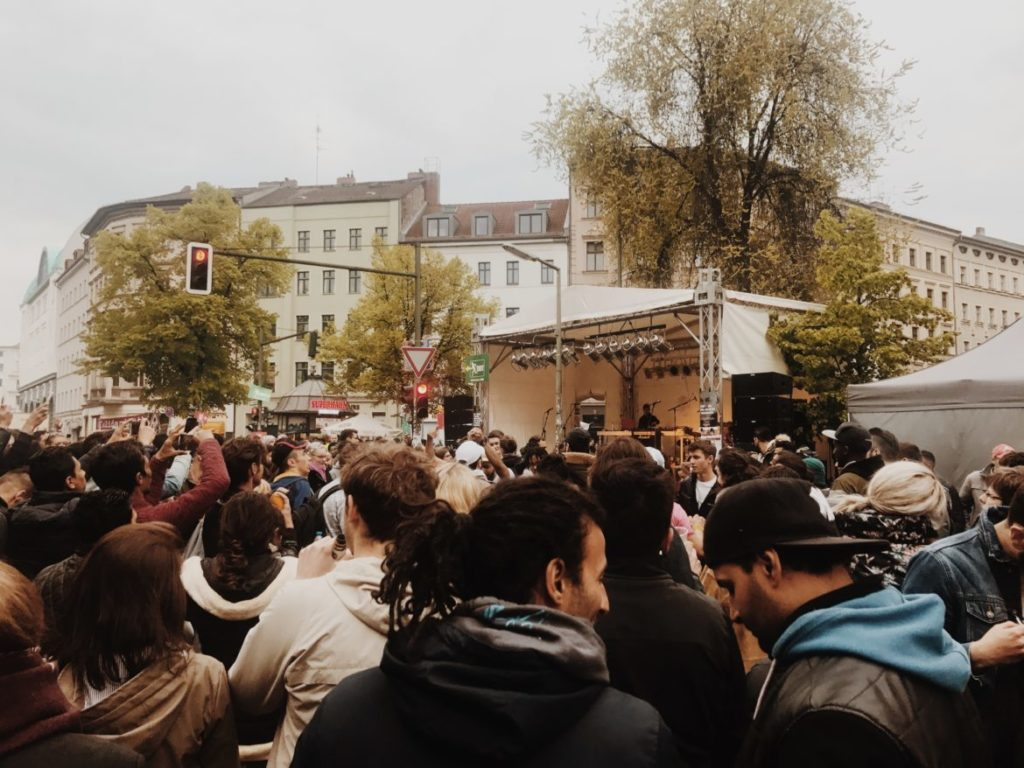 Street Concert Berlin, Krutzberg, May Day