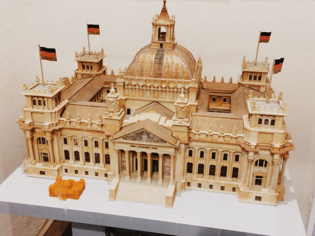 Scale Model of the Reichstag building, Berlin, Germany
