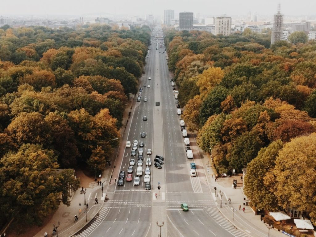View from The Top Of The Siegessaule, Berlin, Germany