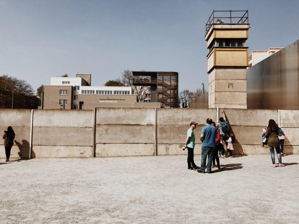 Watchtower at Berlin Wall Memorial