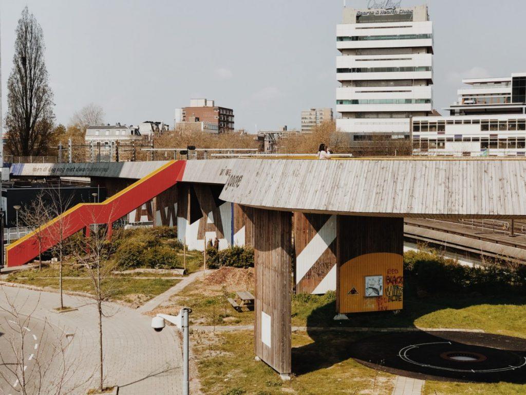 The Luchtsingel Rotterdam