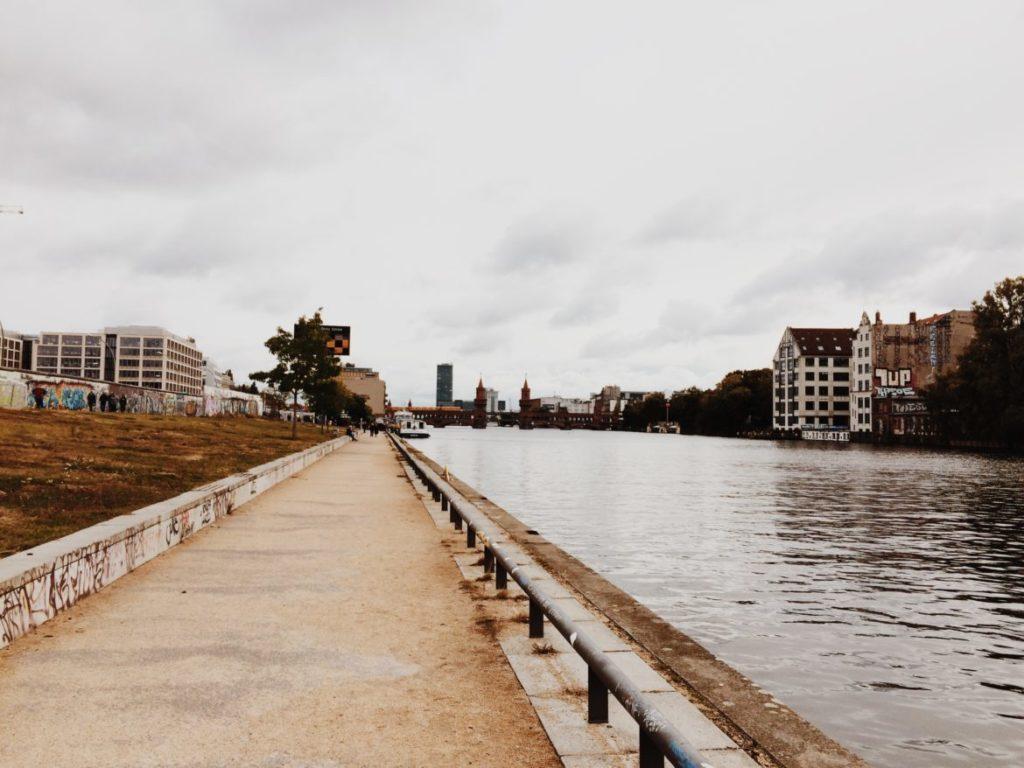 Oberbaumbrucke, famous bridge across the Spree river in Berlin