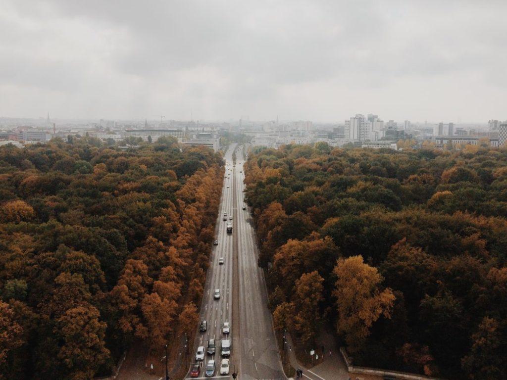 Tiergarten Aerial View, Berlin, Germany