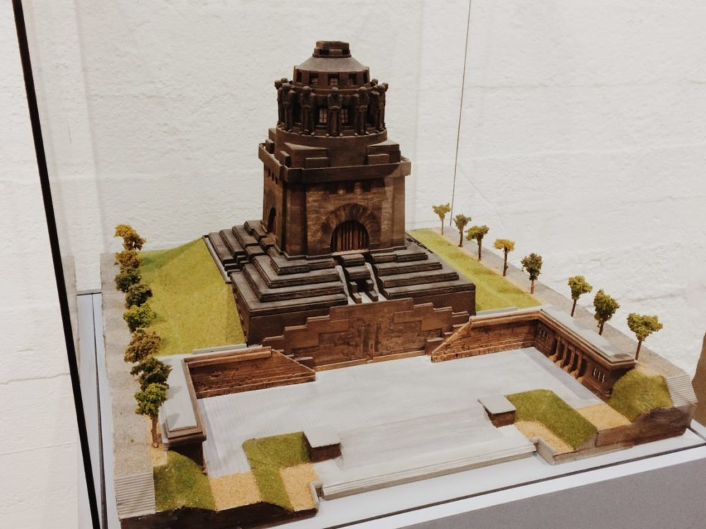 Scale model of the Temple